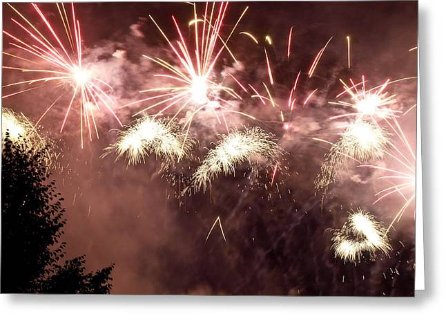 4th July Greeting Cards - Finale Greeting Card by Jim DeLillo