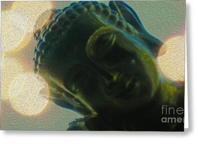 Spiritual Teacher Greeting Cards - Finding Zen Greeting Card by Cheryl Young