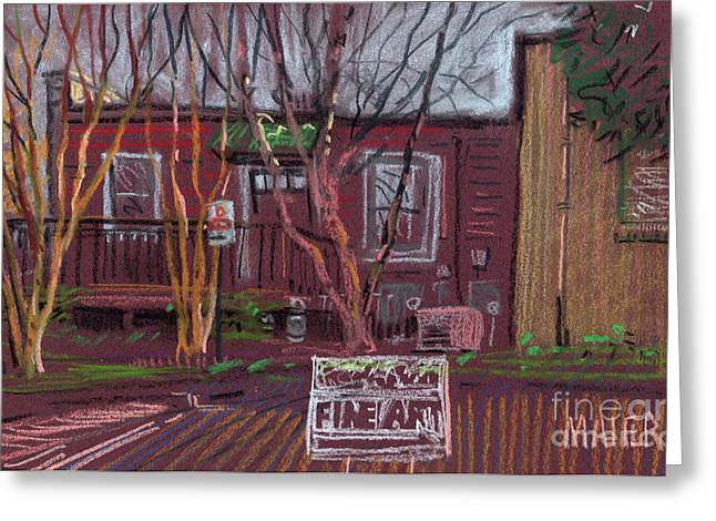 Fine Pastels Greeting Cards - Fine Art Greeting Card by Donald Maier