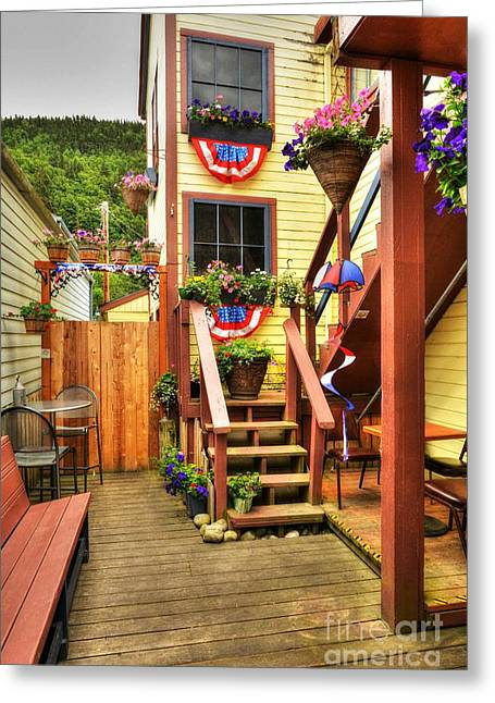 Fine Art In America Greeting Cards - Fine Art In Skagway 3 Greeting Card by Mel Steinhauer