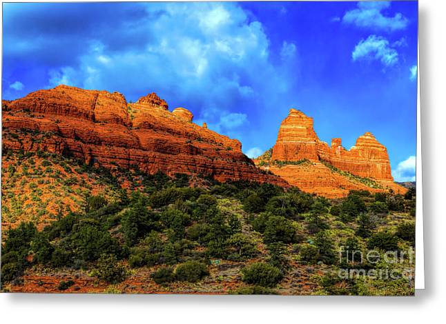 Hematite Greeting Cards - Finelight Greeting Card by Jon Burch Photography