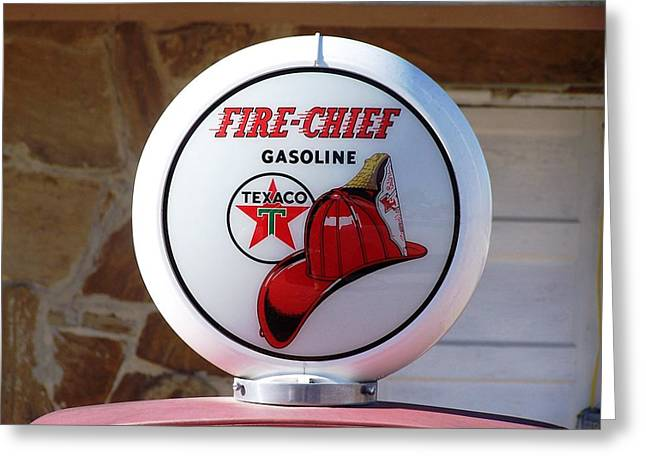 Roadside Art Greeting Cards - Fire Chief Greeting Card by David Gianfredi