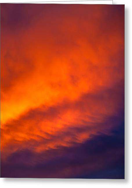 Sunlit Greeting Cards - Fire In The Belly Greeting Card by Az Jackson