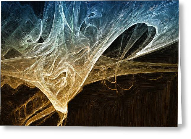 Mark Denham Greeting Cards - Fire in the soul Greeting Card by Mark Denham