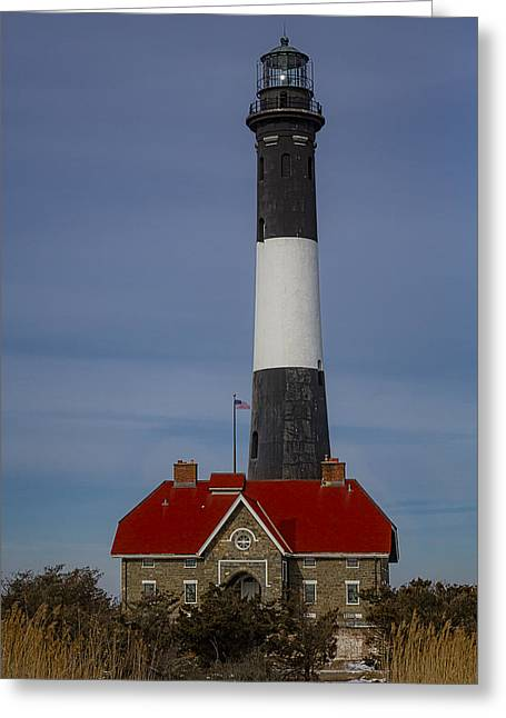 Fire Island Lighthouse II Greeting Card by Susan Candelario