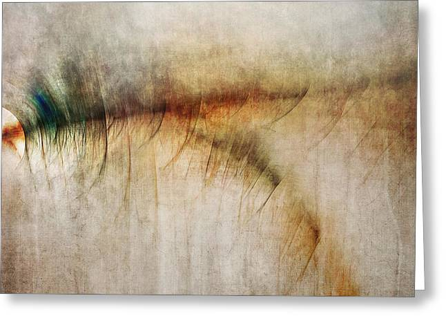 Gritted Greeting Cards - Fire Walk With Me Greeting Card by Scott Norris