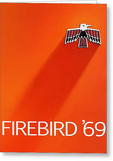 Brochure Greeting Cards - Firebird 69 Greeting Card by Mark Rogan
