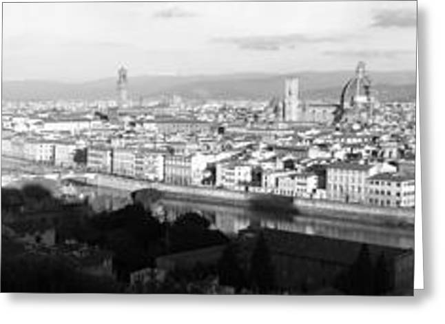 Firenze Greeting Card by Alan Todd