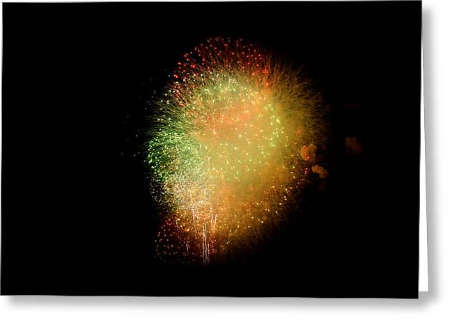 fireworks  Greeting Card by Brynn Ditsche