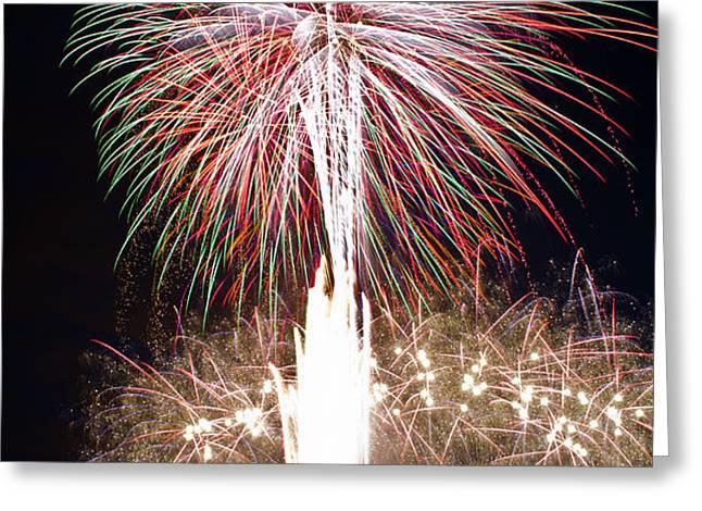 Fireworks Greeting Card by Ernesto Grossmann