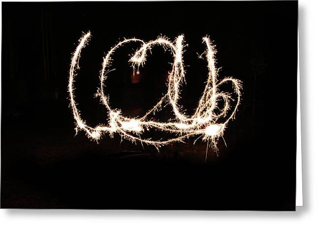 Independance Day Greeting Cards - Fireworks Fun Greeting Card by Richard Mitchell