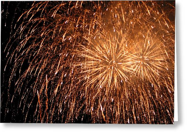 Fireworks Prints Greeting Cards - Fireworks Greeting Card by Julie Niemela