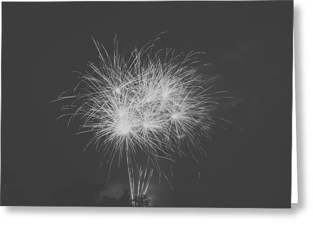Pyrotechnics Greeting Cards - Fireworks Greeting Card by Kristin Rommel