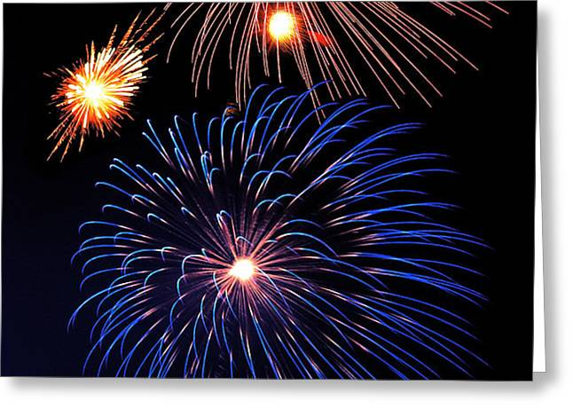 Fireworks Wixom 1 Greeting Card by Michael Peychich