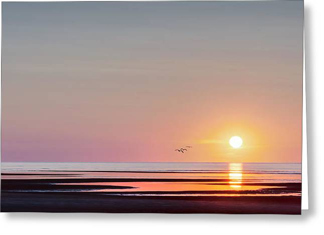 Massachusetts Greeting Cards - First Encounter Beach Cape Cod Greeting Card by Bill Wakeley