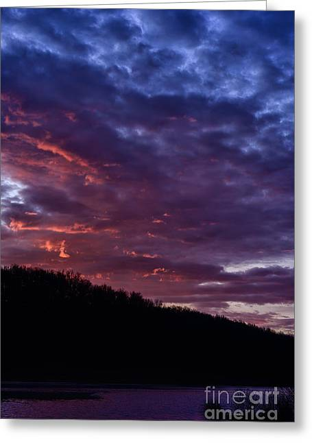 Allegheny Greeting Cards - First Light at the Lake Greeting Card by Thomas R Fletcher
