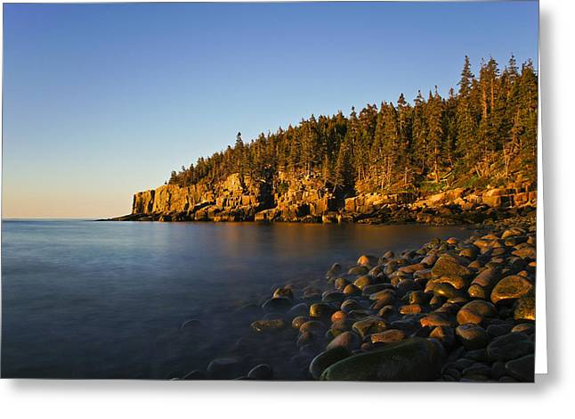 Exposure Greeting Cards - First Light Greeting Card by Brian Kamprath