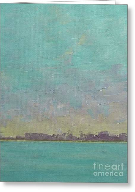 Jacksonville Greeting Cards - First Light Greeting Card by Gail Kent