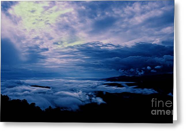 Scenic Drive Greeting Cards - First Light Greeting Card by Tom Gari Gallery-Three-Photography