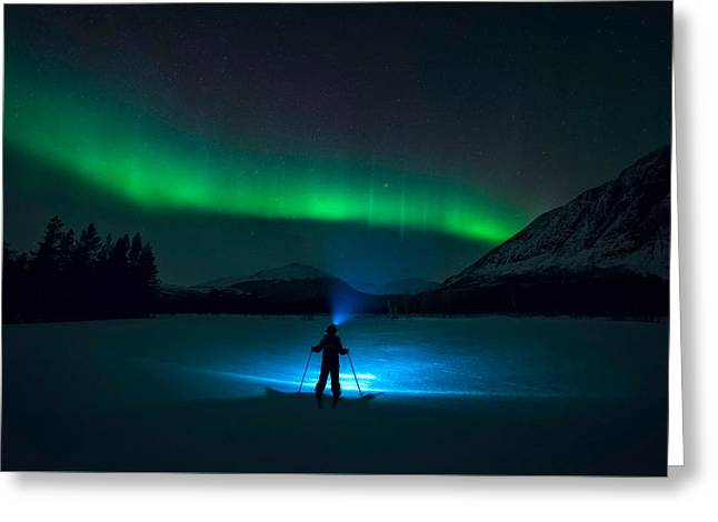 First Love Greeting Card by Tor-Ivar Naess