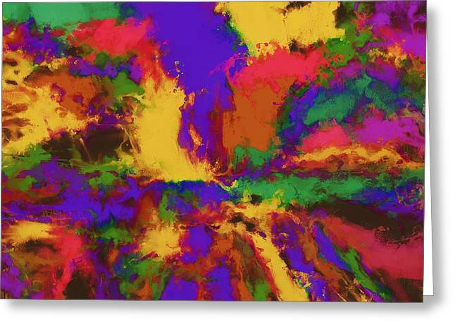 Loose Style Digital Greeting Cards - First moment Greeting Card by Keith Mills