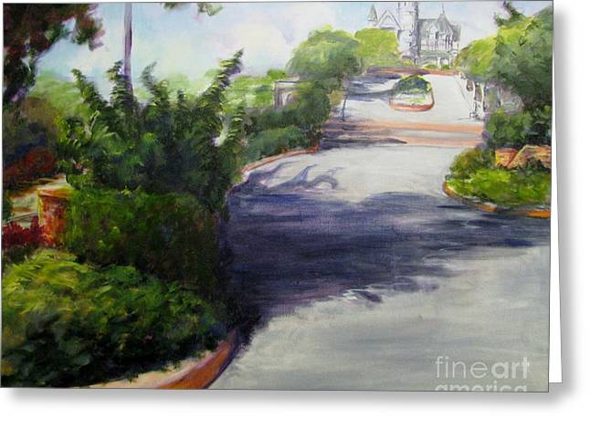 First Street Eureka Greeting Card by Patricia Kanzler