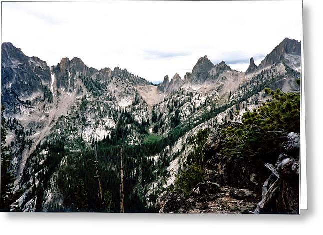 Fish Fin Ridge Photograph Greeting Card by Kimberly Walker