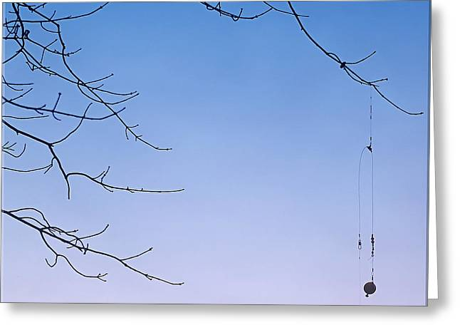 Overhang Greeting Cards - Fishermans Trap Greeting Card by Brian Wallace