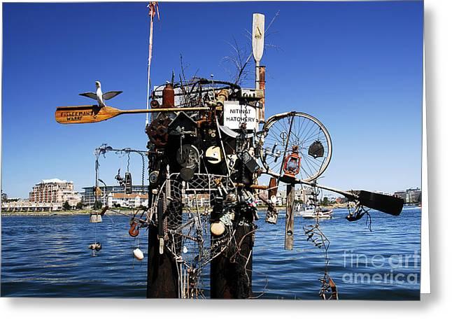Fisherman Wharf Greeting Cards - Fishermans Wharf Greeting Card by David Lee Thompson
