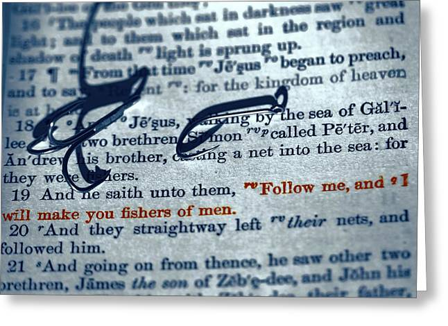 Fishers Of Men Greeting Card by Dan Sproul