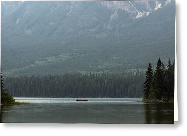 Pyramids Greeting Cards - Fishing on Pyramid Lake Greeting Card by Cale Best