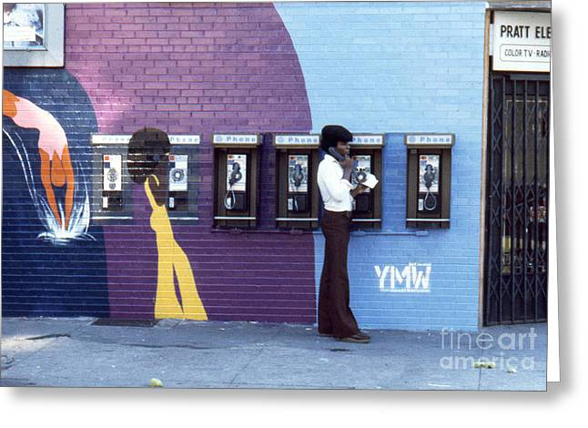 African-american Institute Greeting Cards - Fitting Right In Greeting Card by Erik Falkensteen