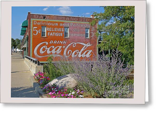 Main Street Greeting Cards - Five Cents Greeting Card by Ann Horn