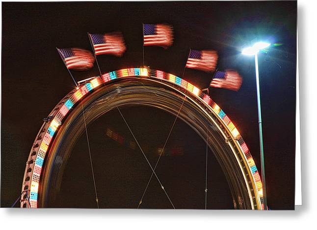 Five Flags Greeting Card by James BO  Insogna