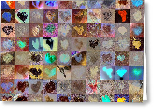Five Hundred Series Greeting Card by Boy Sees Hearts
