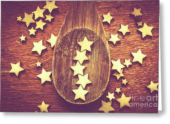 Five Stars Quality Food Service  Greeting Card by Jorgo Photography - Wall Art Gallery