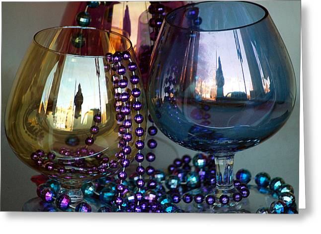 Goblet Greeting Cards - FiveandDime Greeting Card by Robert Trauth