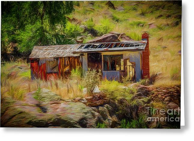 Fixer Upper Greeting Card by Jon Burch Photography