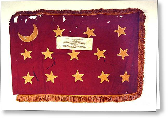 Confederate Flag Greeting Cards - Flag Greeting Card by Bob Pickett