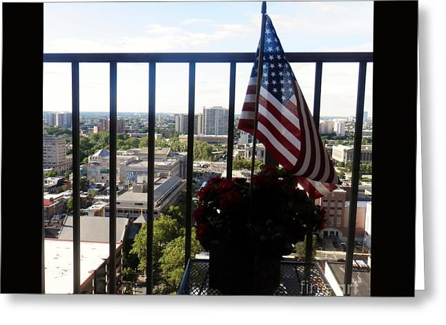 Flag Of Usa Greeting Cards - Flag Greeting Card by Hammel