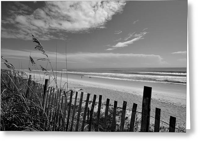 Flagler Greeting Cards - Flagler Beach View Greeting Card by Andrew Armstrong  -  Mad Lab Images