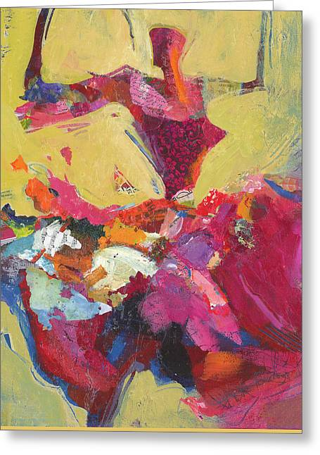 Dancer Paintings Greeting Cards - Flamenco Dancer Greeting Card by Shelli Walters