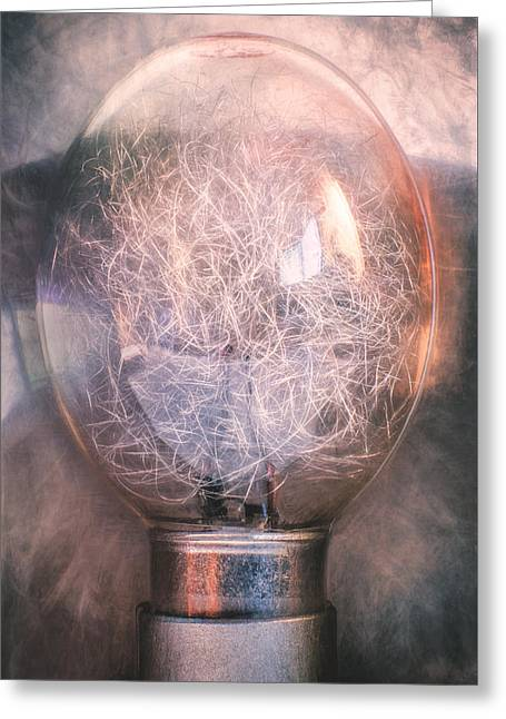 Flash Bulb Greeting Card by Scott Norris