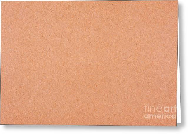 Flat Cardboard Texture Abstract Greeting Card by Arletta Cwalina