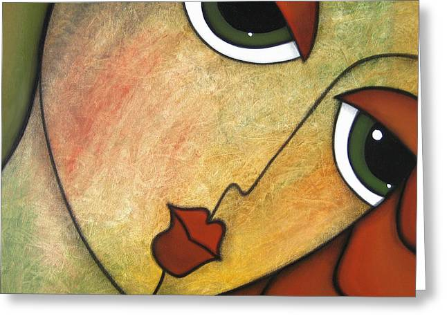 Picasso Greeting Cards - Flawless Greeting Card by Tom Fedro - Fidostudio