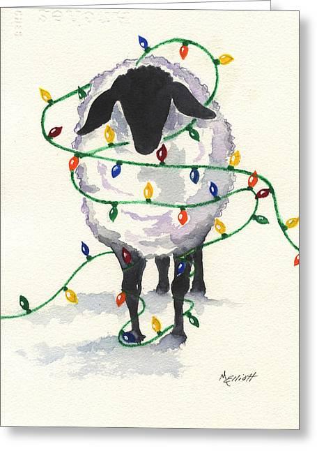 Navidad Greeting Cards - Fleece Navidad Greeting Card by Marsha Elliott