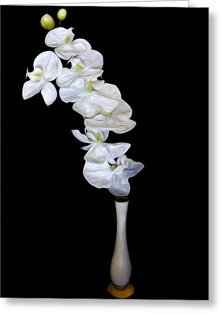 Cecil Fuselier Greeting Cards - Fleur Blanche Greeting Card by Cecil Fuselier