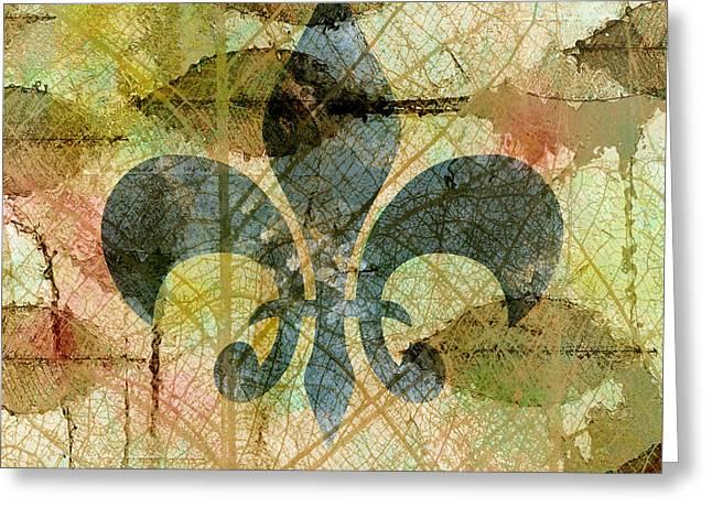 Zen Greeting Cards - Fleur De Lys Nature Greeting Card by Georgiana Romanovna