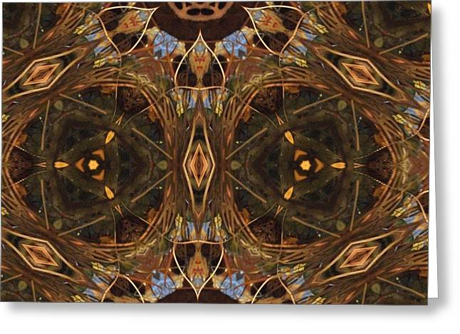 Patterned Greeting Cards - Flight Greeting Card by Jacquie King