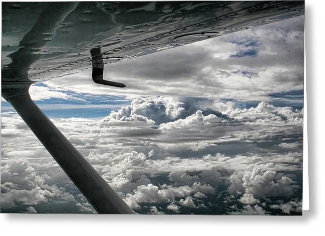 Cessna Greeting Cards - Flight of Dreams Greeting Card by Patricia Montgomery